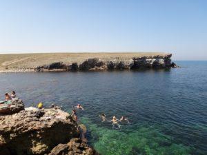 побережье Тарханкута